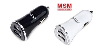 CARGADORES MECHERO USB